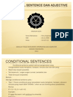 Conditional Sentence Dan Adjective Clause