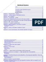 Distributed System Answer Key