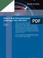 OW en CMT 2008 China Telecom