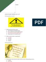 Soal Paket a Bahasa Inggris