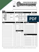 SR3 Character Sheet
