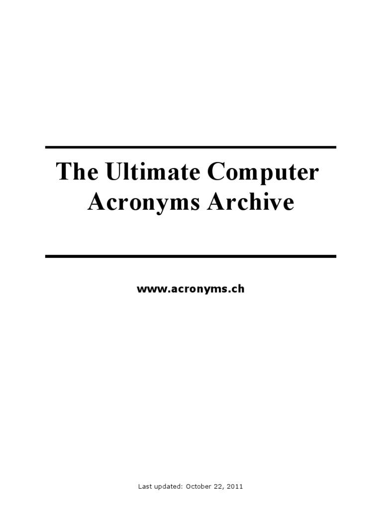 87fd8ffd1afb Computer Acronyms