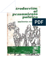 Cerroni, Umberto - Introducción al pensamiento político