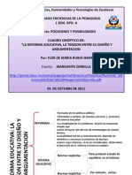 Cuadro Sinoptico Reforma Educucativa