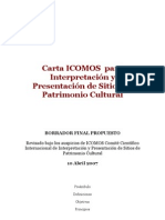 ICOMOS Carta Interpretacion ES