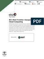 bis next frontier geospatial cloud computing