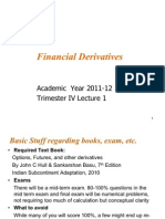 FD Lecture I