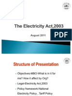 Act & Policiy 2011 PGCIL Vm Office 2003