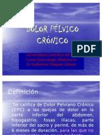 Clase 17 - Dolor Pelvico Cronico