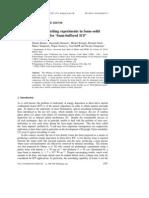 Dimitri Batani et al- Shock impedance matching experiments in foam–solid targets