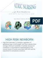 11885909 HighRisk Newborns and Child During Illness and Hospitalization Pediatric Nursing 2