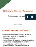 o sistema nervoso autónomo