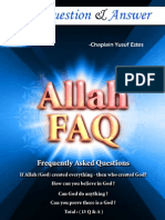 Allah Frequently Asked Questions