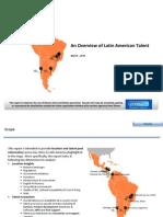 Latin American Talent Hotspots Overview