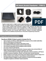 Polyacetal Copolymer POM-C Engineering Thermoplastics