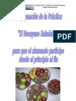 práctica DESAYUNO SALUDABLE