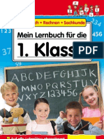 Mein Lernbuch für die 1. Klasse - Deutsch Rechnen Sachkunde