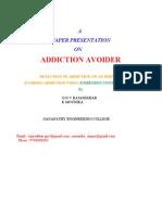 Addiction Avoider