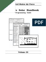 USAF - Passive Solar Handbook Vol3