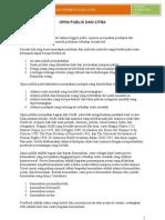 Materi II-opini Publik Dan Citra