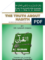 The Truth About Hadees - Eng (Dr Qamar Zaman)
