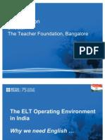 Elt Operating Environment India