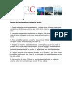 Normas de Uso de Embarcaciones Del Kayak RCRC y Protocolo de Seguridad