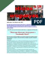 Noticias Uruguayas martes 31 de enero de 2012