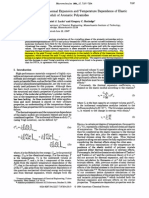 Thermal Expansion and Temp Dependece of e Moduli Orf Aromatic PA