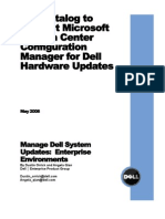 Dell Catalog for Microsoft System Center Configuration Manager
