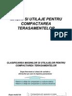 Masini Si Utilaje Pentru Compact Area Terasamentelor