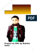 Project on XML by Botoho 2011