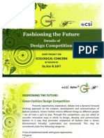 Fashioning the Future - Details of Design Competition 2
