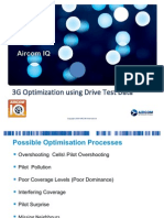 3G Optimization Using Drive Test Data