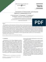 N. Pon Saravanan et al- Voltammetric determination of nitroaromatic and nitramine explosives contamination in soil