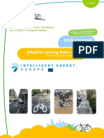 PRESTO Cycling Policy Guide Infrastructure
