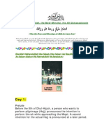 Hajj Day Wise Guide With Pictures