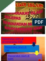 Bab 3 Masyarakat Islam Selepas Zaman Nabi Muhammad