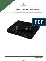 Manual Do Usuario DVR PC0404E H264