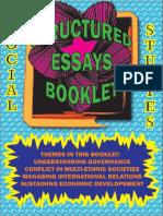 Social Studies Structured Essays