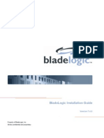 Blade Logic Installation
