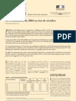 Délits et recidive 2004
