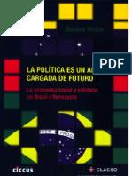 hintze -economía social en venezuela y brasil
