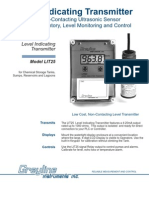 Low Cost Level Indicating Transmitter, Greyline LIT25