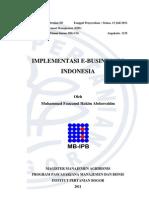 Implementasi e Business Di Indonesia