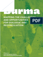 Burma- Mapping the Challenges and Opportunities for Dialogue and Reconciliation