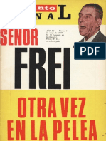 Punto Final, nº 078, 1969 - Señor Frei otra vez en la pelea