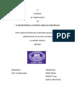 Final Dissertaion Synopsis Shikha