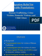 Immigration Relief for Vulnerable Populations