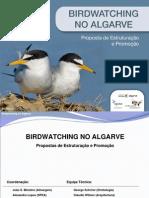 BIRDWATCHING Estudo Algarve